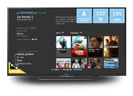 Pametni televizor Sony KD65XD7505BAEP
