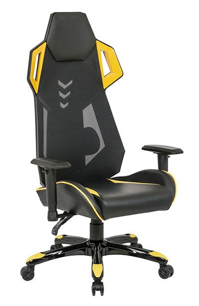 Pisarniški stol RJ-8594 rumen