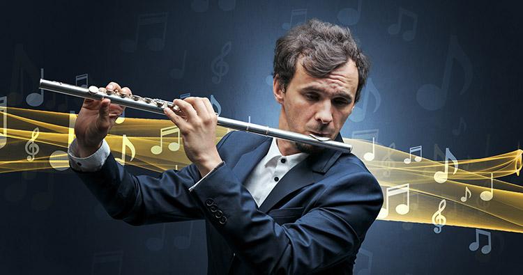 Igranje na prečno flavto