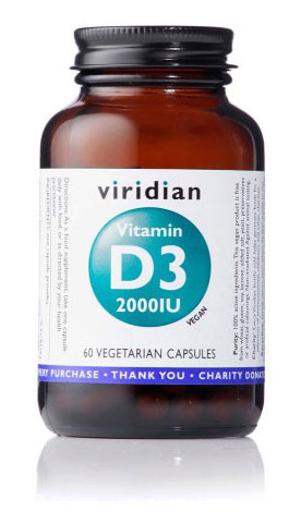 Vitamin D3 Viridian - kapsule